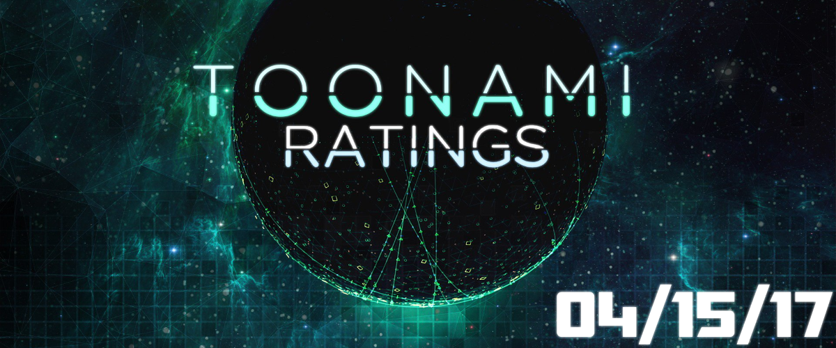 Toonami Ratings: April 15th, 2017