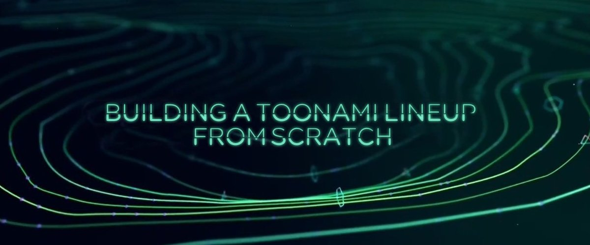 Building a Toonami line Up From Scratch