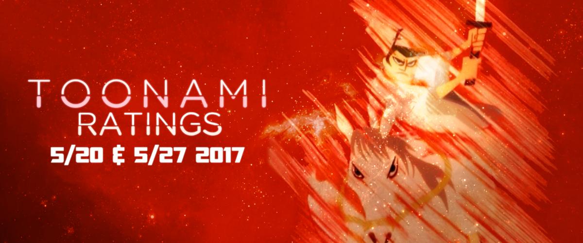 Toonami Ratings: May 20 & 27, 2017
