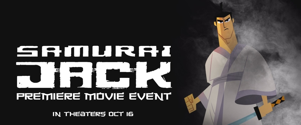 Samurai Jack: Premiere Movie Event And Samurai Jack: The Complete Series Blu-Ray Set Release