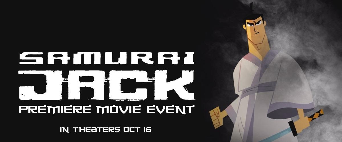 Samurai Jack: Premiere Movie Event And Samurai Jack: The Complete Series Blu-Ray Set Release
