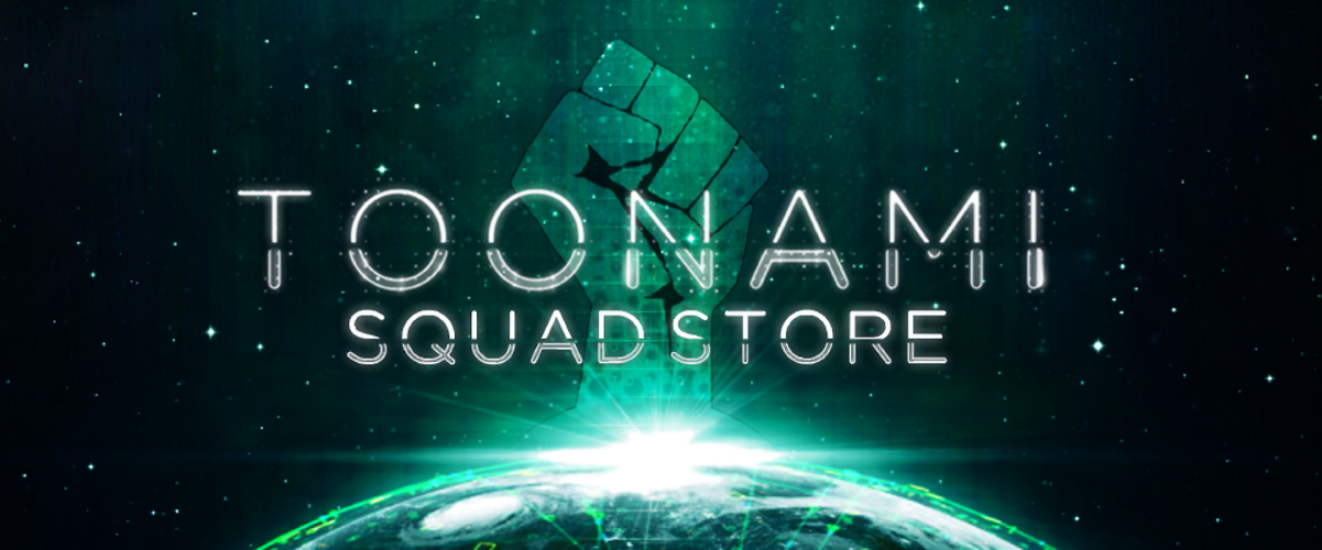 Press Release: ToonamiSquad.com is proud to announced the launch of our new online store!