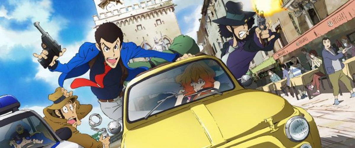 Press Release: Discotek Media Announces Lupin the 3rd Part 4, The Italian Adventure! The Complete English Language Edition as seen on Toonami Coming to Blu-Ray May 29th, 2018!