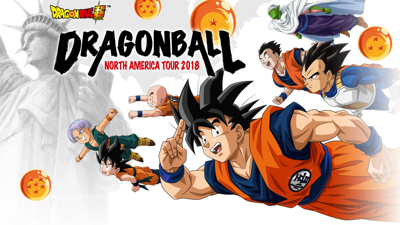Press Release: THE DRAGON BALL NORTH AMERICA TOUR 2018; Seven City Tour Kicks-off in July at San Diego Comic-Con