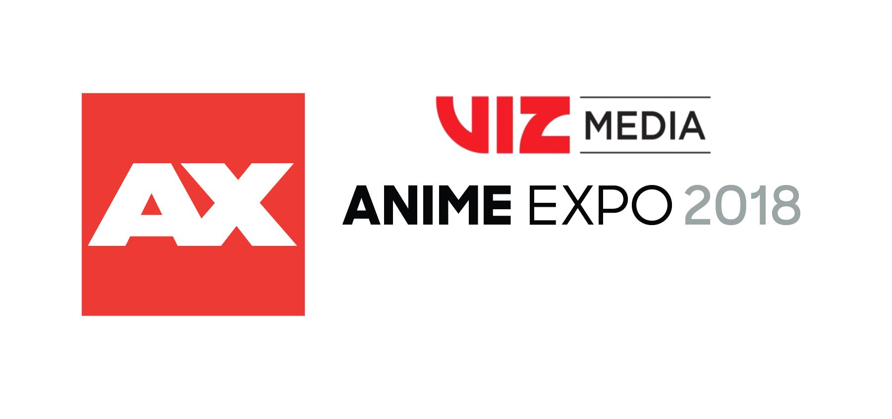 Press Release: VIZ Media Announces Anime Expo 2018 Guests & Activities!