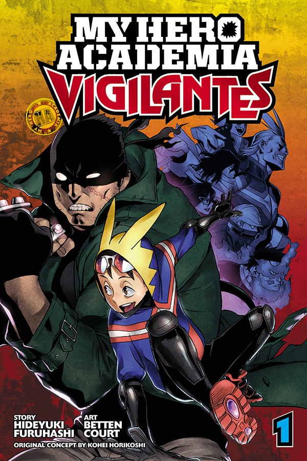 In MY HERO ACADEMIA: VIGILANTES, Not Everyone Needs A License to Fight for Justice! Viz Media Launches New Manga Spin Off Series!