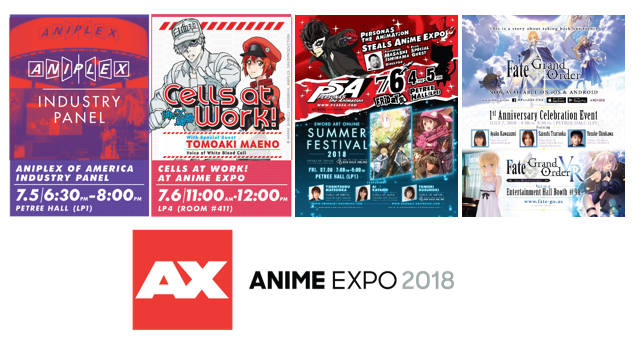 -- PRESS RELEASE -- Aniplex of America Announces Events and Special Guests for Anime Expo 2018