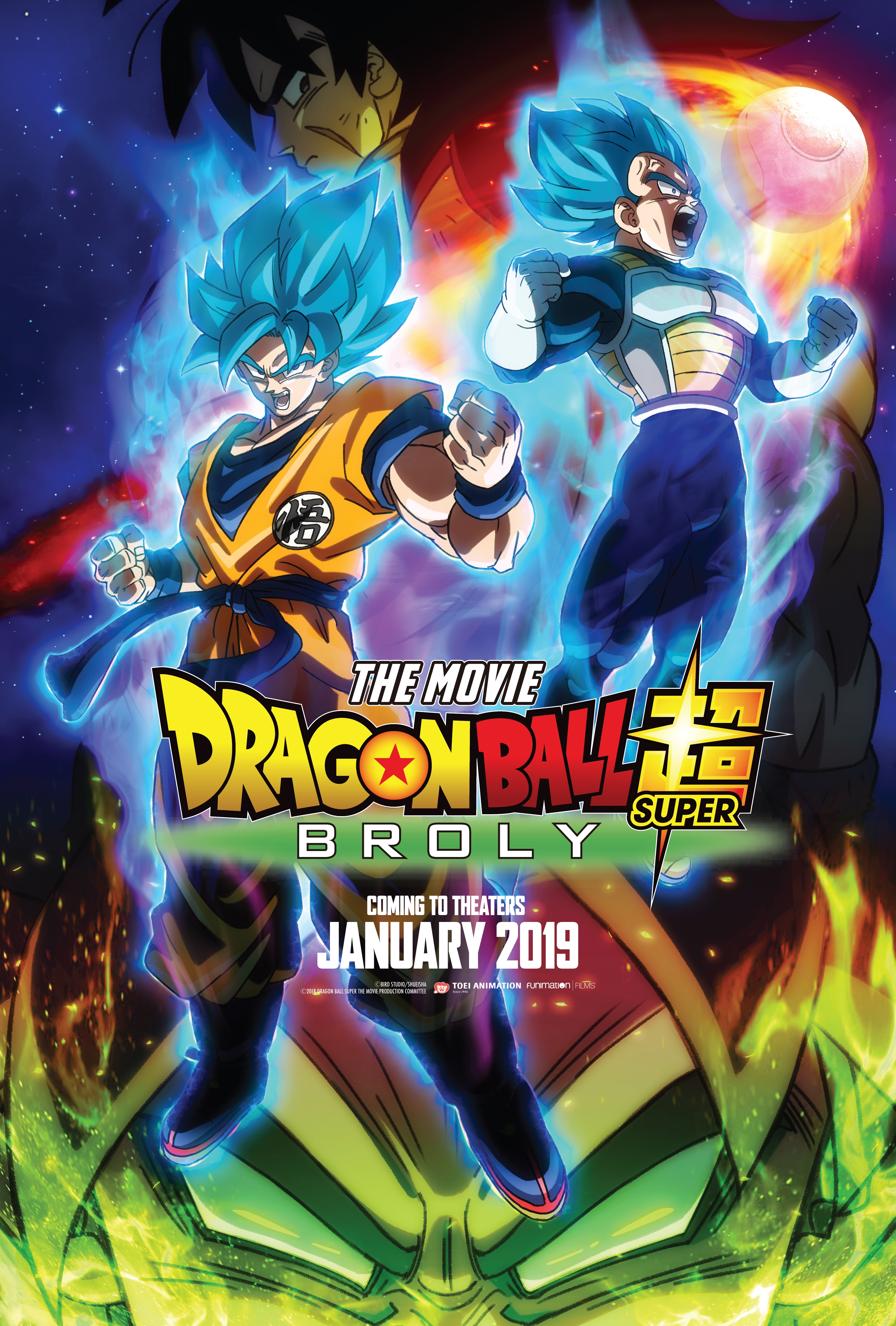 BREAKING NEWS: FUNIMATION ACQUIRES NEW DRAGON BALL SUPER MOVIE FOR THEATRICAL DISTRIBUTION JANUARY 2019 IN U.S. AND CANADA
