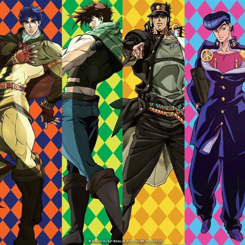 Don't Miss the Twitch JOJO'S BIZARRE ADVENTURE Full Anime Live Streaming Event Hosted by VIZ Media!