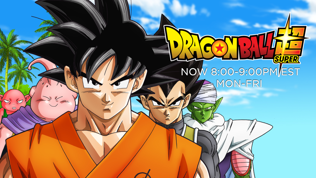 Adult Swim Now Airing Double Dragon Ball Super 8:00PM-9:00PM EST Monday-Friday