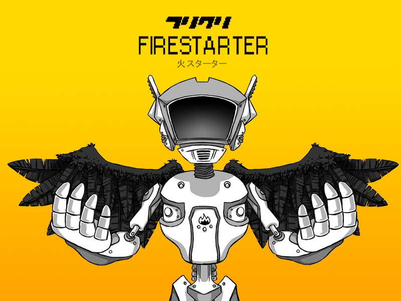 Press Release: Check Out FLCL: Firestarter By Silverware Games