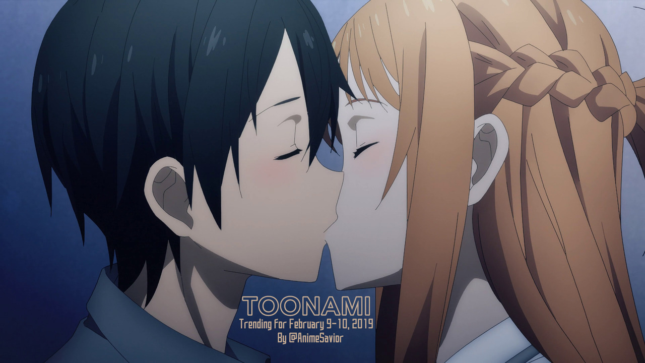 Toonami Trending Rundown for February 9th-10th, 2019, By @AnimeSavior
