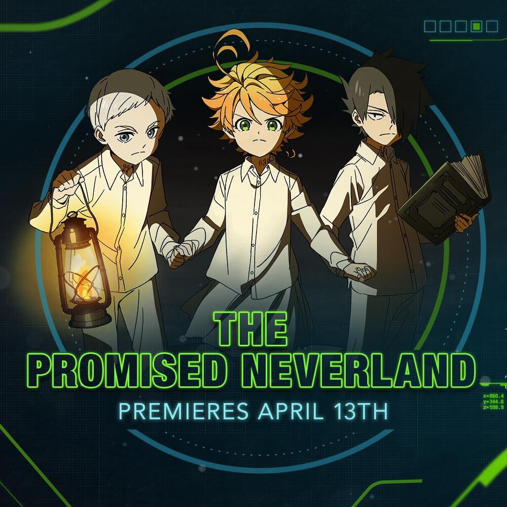 The Promised Neverland to Premiere on Toonami Saturday April 13th
