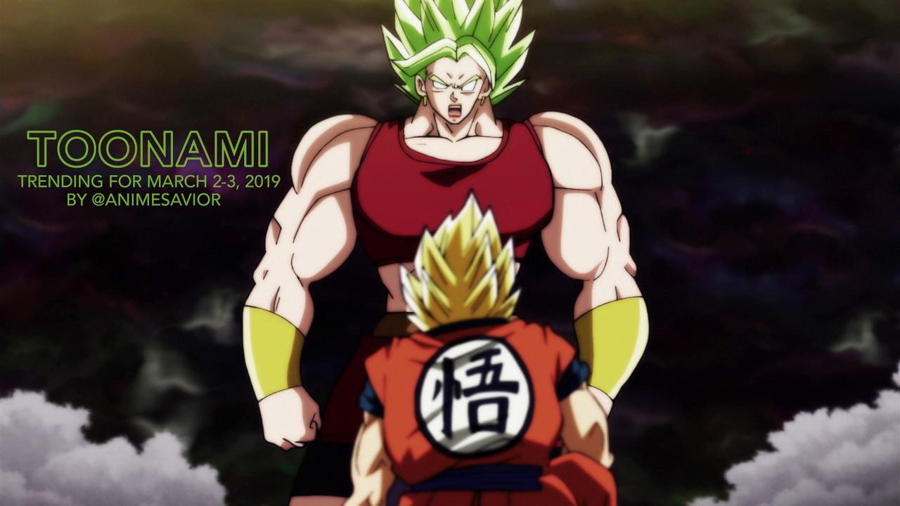Toonami Trending Rundown for March 2nd-3rd, 2019, By @AnimeSavior