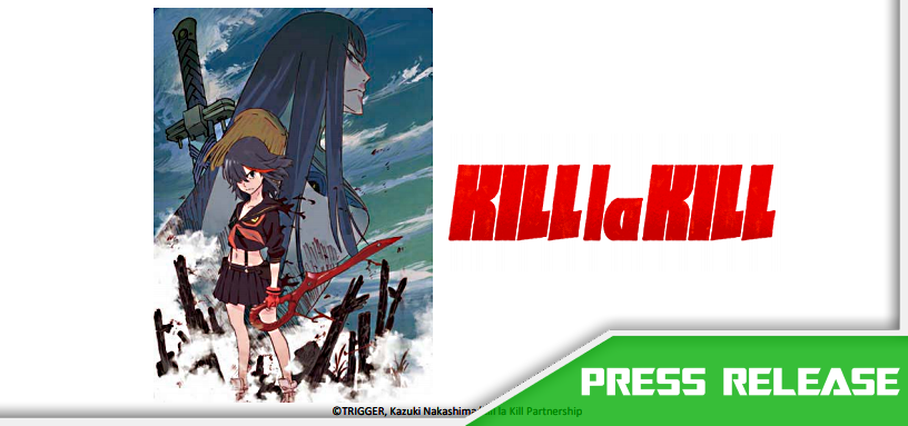 Aniplex of America Announces KILL la KILL Complete Blu-ray Box Set Release this Christmas!