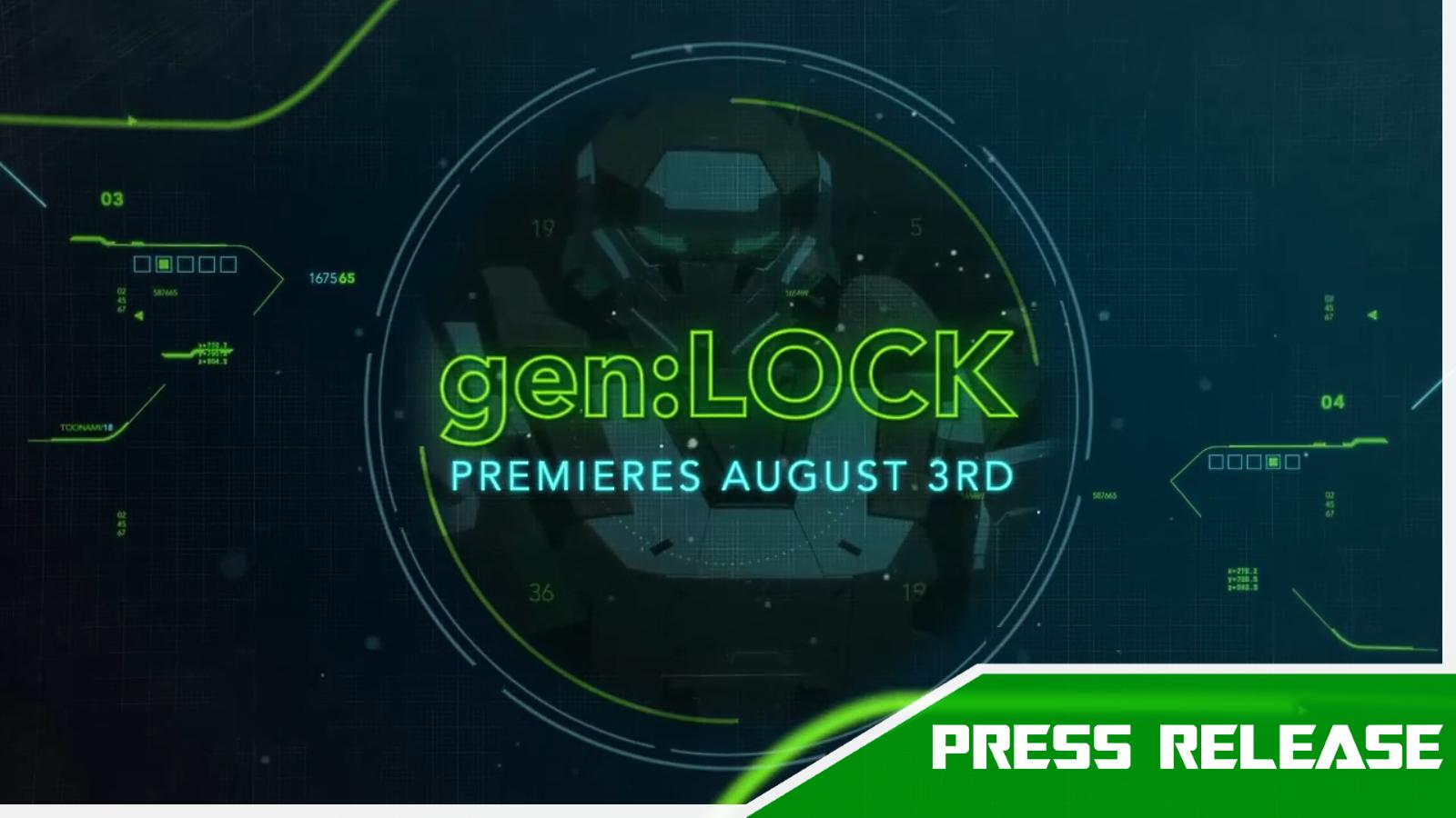 Rooster Teeth's gen:LOCK Makes Exclusive Broadcast Premiere on Adult Swim's Toonami