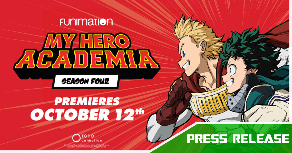 My Hero Academia Season 4 Will Be Subbed And Dubbed On Funimationnow Toonami Squad