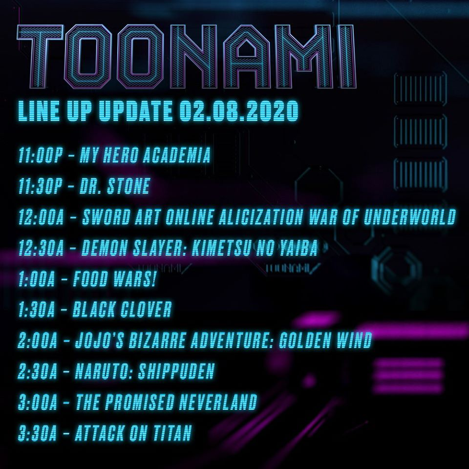 Toonami to Lose 30 Minutes as Fire Force's Run Comes to an End