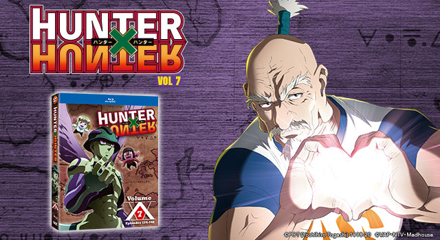 Hunter x Hunter, Set 7: The Final Set (Blu-ray, DVD, and Digital) Out Now