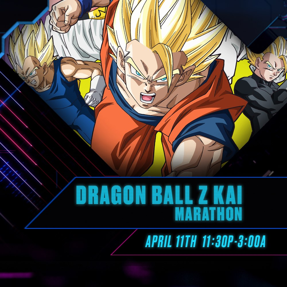 Toonami Announces Dragon Ball Z Kai Marathon for April 11, 2020 to Help Deal With Programming Delays