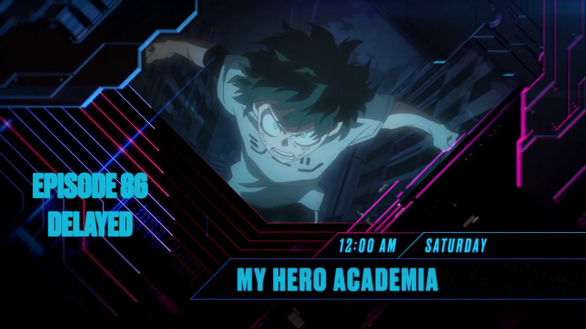 FUNimation SimulDub Production Delays Due to COVID-19 Pandemic Cause Broadcast Delay for My Hero Academia on Toonami