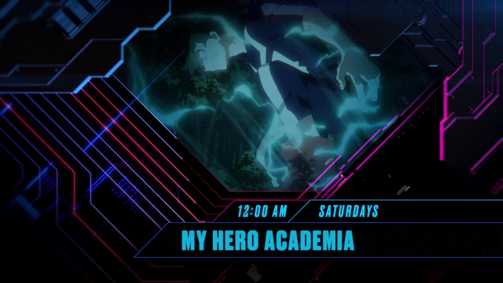 Toonami Airs New Sustaining Promo for My Hero Academia