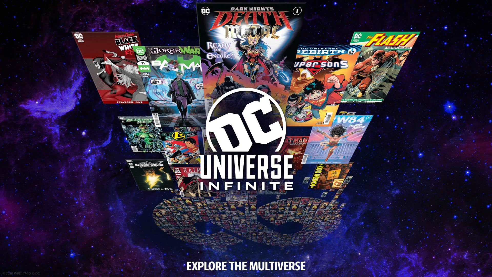 DC UNIVERSE TRANSFORMS INTO DC UNIVERSE INFINITE, THE ULTIMATE COMIC BOOK SUBSCRIPTION SERVICE