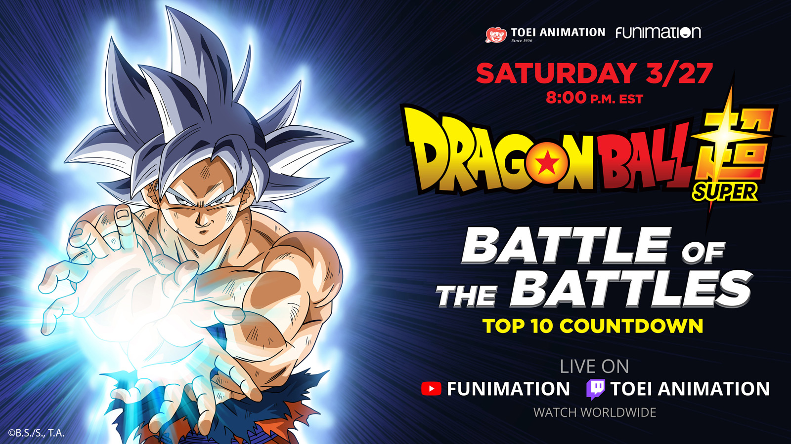 Press Release: Toei Animation and Funimation Present