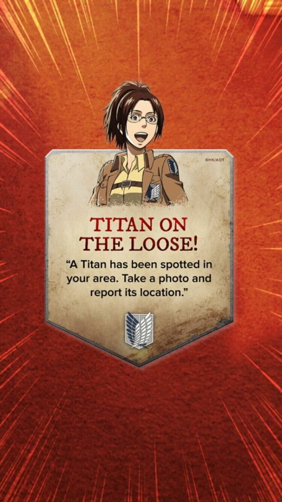 Press Release: Relive A Modern Epic With Attack on Titan AR Filter!