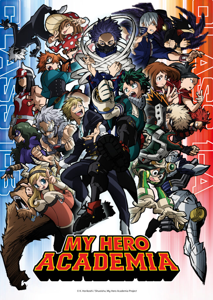 My Hero Academia rejoins Toonami for Season 5 on May 8, Attack on Titan Final Season resumes in Japan this Winter