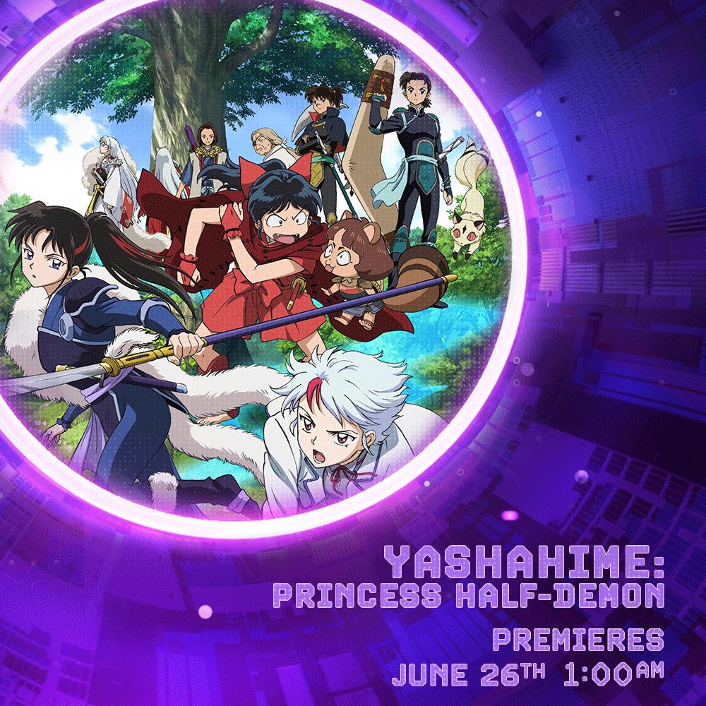 Yashahime: Princess Half-Demon finally joins Toonami on June 26