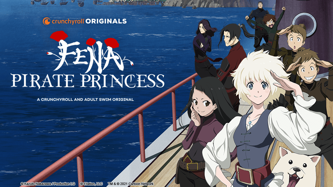 Fena: Pirate Princess to premiere August 14 at Midnight on Toonami and Crunchyroll